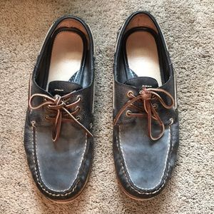 Men's Frye Sully Leather Boat Shoe